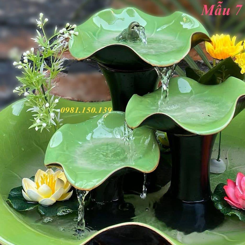 bán Thác Nước Mini Phong Thủy Mẫu 7 giá rẻ